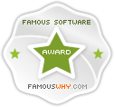 Famous Software Award from famouswhy.com !
