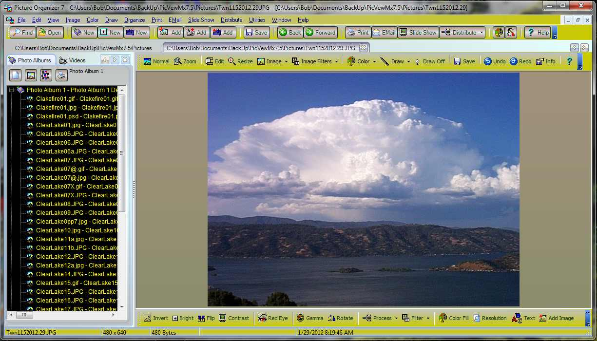 Picture Organizer 7.7 Screen shot